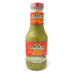 Green Salsa 475g | Verde | Authentic Mexican | La Costena | Buy Online | UK | Europe
